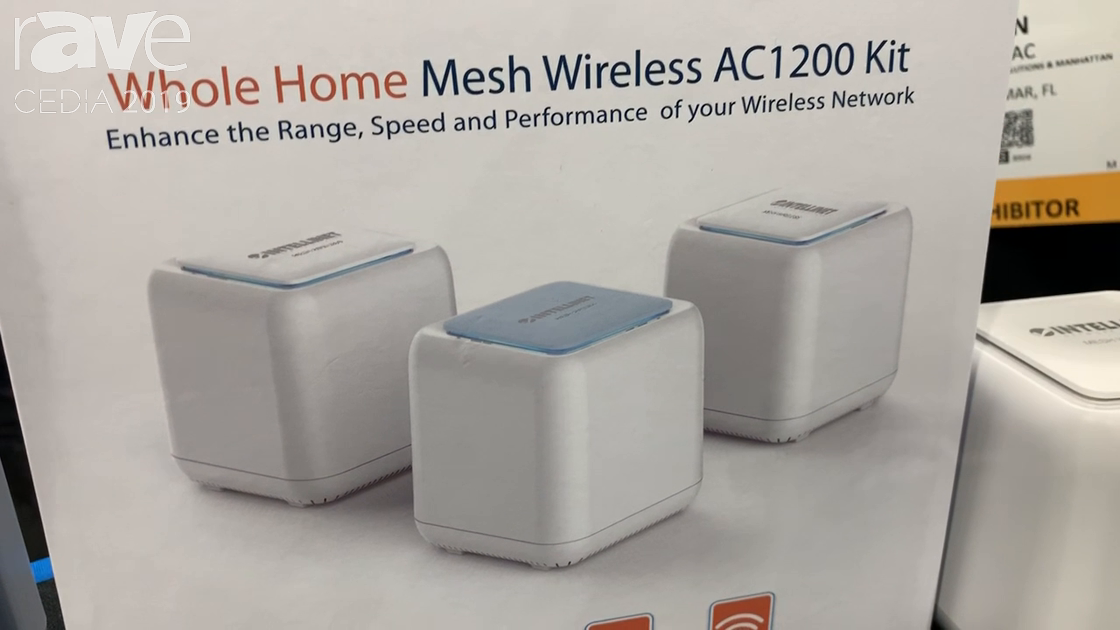 CEDIA 2019: Intellinet Network Solutions Features Whole Home Mesh Wireless AC1200 Kit