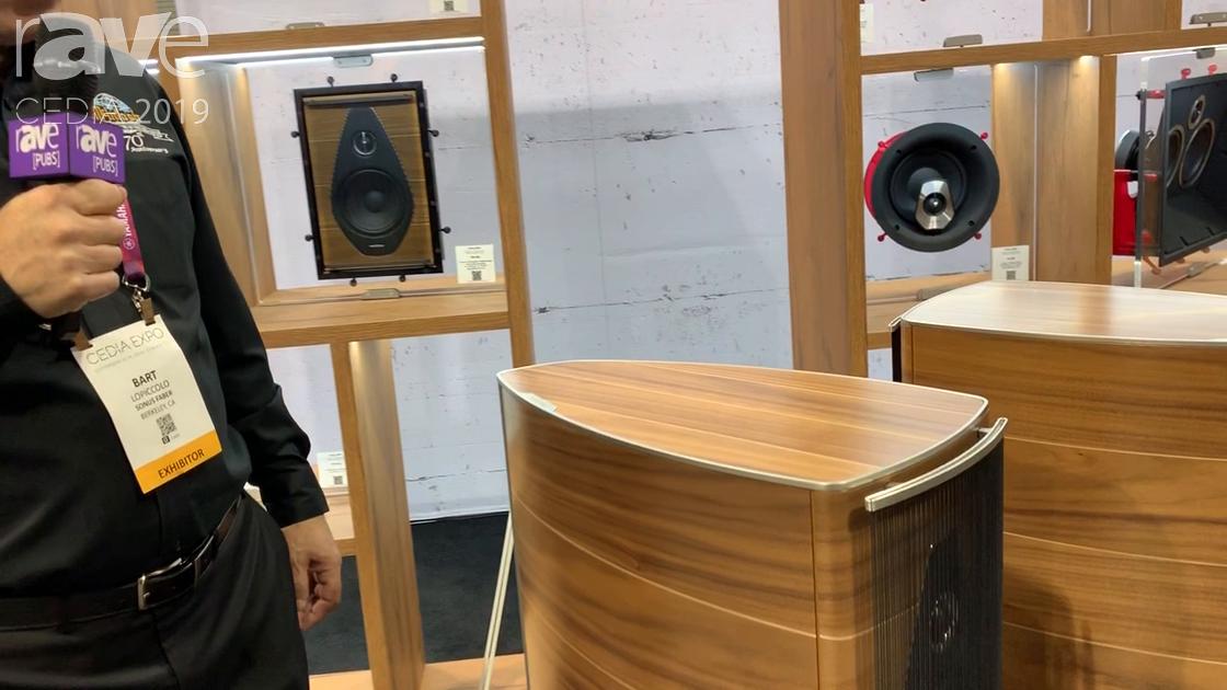 CEDIA 2019: Sonus Faber Intros Floorstanding Olympica Nova Speaker Line