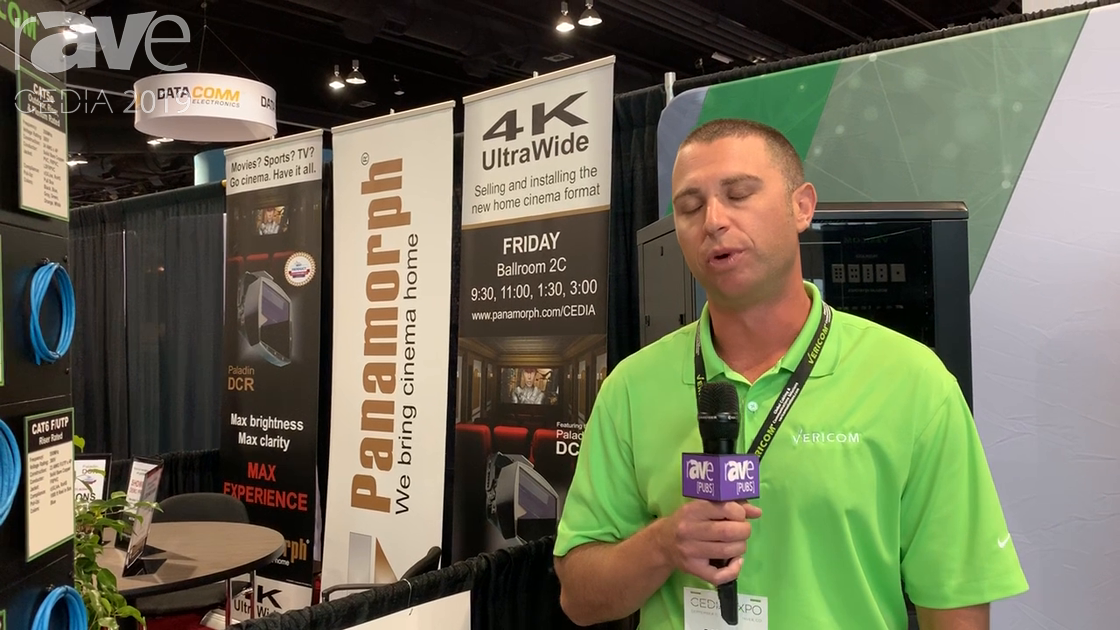 CEDIA 2019: Vericom Global Solutions Shows Off Wide Range of Cat6 Cable Solutions