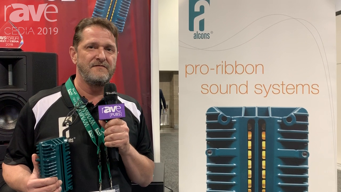 CEDIA 2019: Alcons Audio Shows Pro Ribbon Transducer Technology for an Immersive Experience