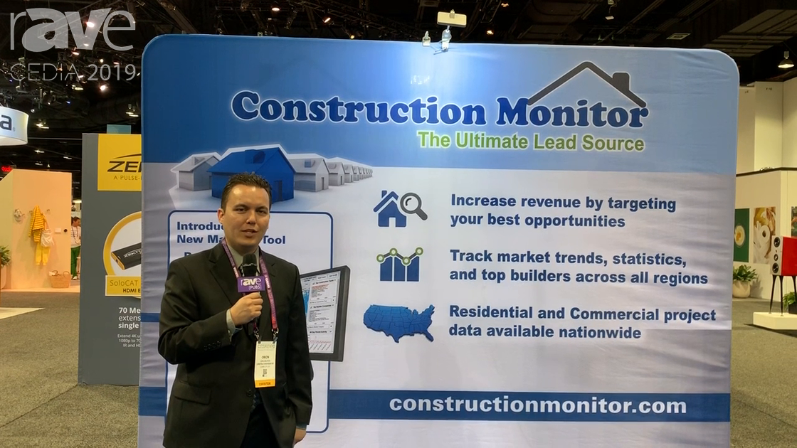 CEDIA 2019: Construction Monitor Explains Building Permit Lead Services