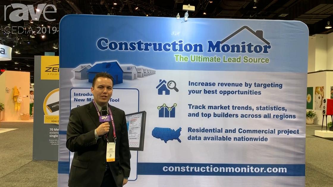 CEDIA 2019: Construction Monitor Explains Building Permit Lead Services