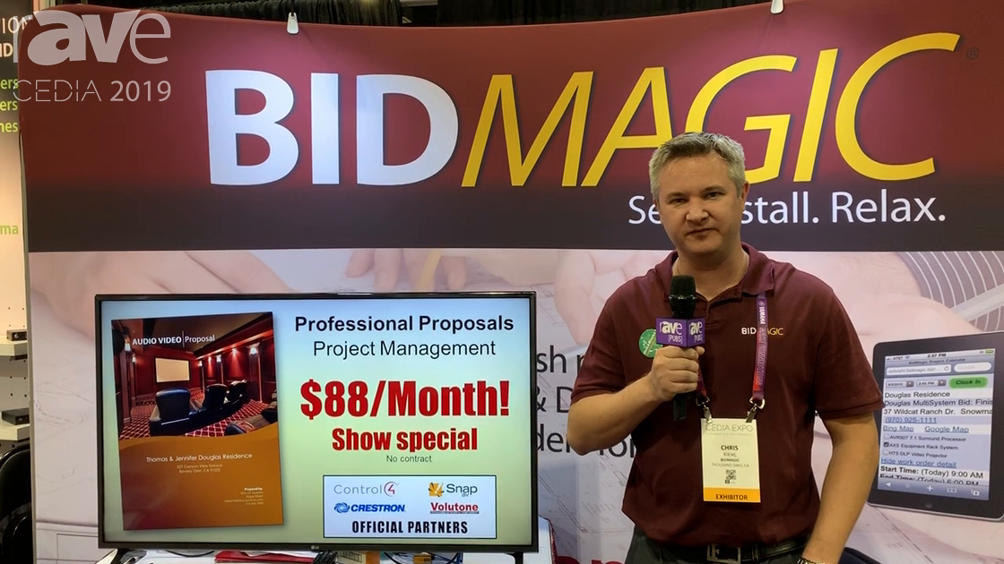 CEDIA 2019: BidMagic Talks About Proposal Software Solution