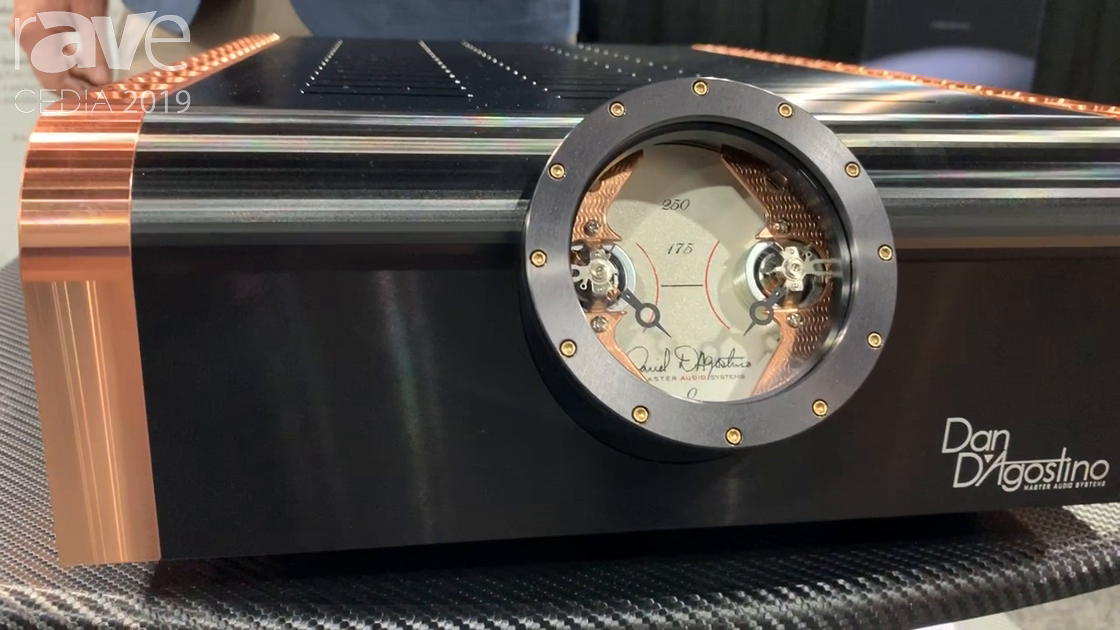 CEDIA 2019: Dan D'Agostino Showcases Momentum S250 Copper-Enclosed Stereo Amplifier