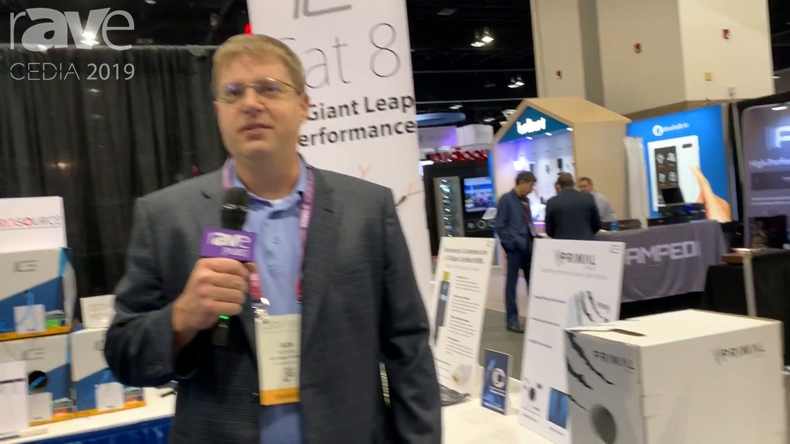 CEDIA 2019: ICE Cable Highlights Cat8 With Easy Termination System