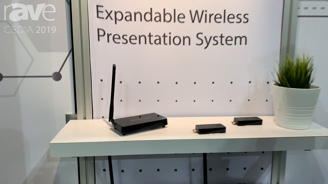 CEDIA 2019: IOGEAR Talks Share Pro Wireless Presentation System for Conferencing Or Huddle Spaces
