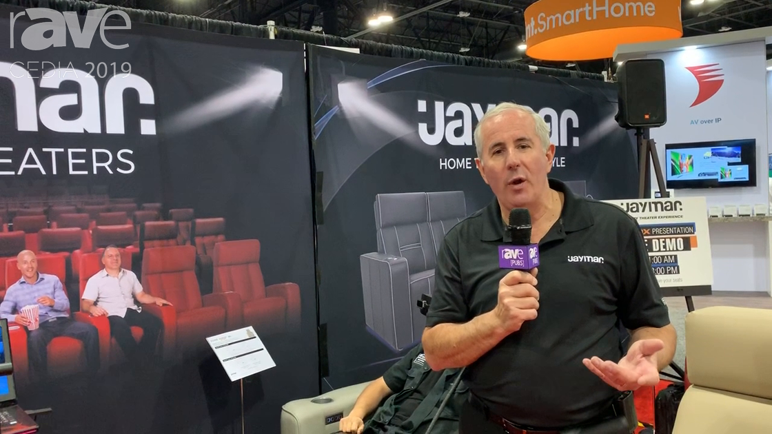 CEDIA 2019: Jaymar Talks About Its VR Headset Experience and Custom Seating Options