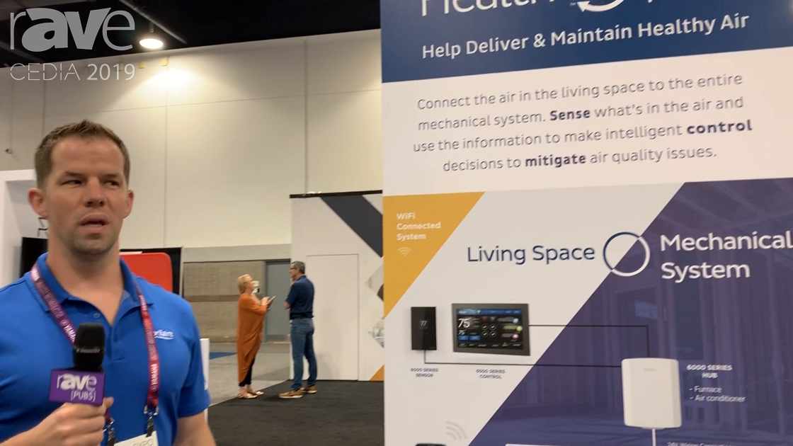 CEDIA 2019: Aprilaire's Health 360 Helps Make Your Home's Air Healthier