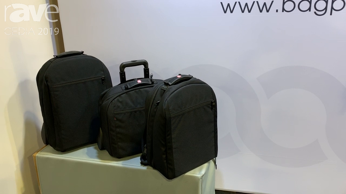 CEDIA 2019: Bag PRO Has New Line of Executive Bags for Presenters/Salespeople