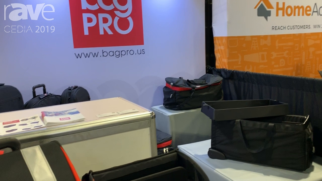 CEDIA 2019: Bag PRO Showcases Its Field Services Tools Bags