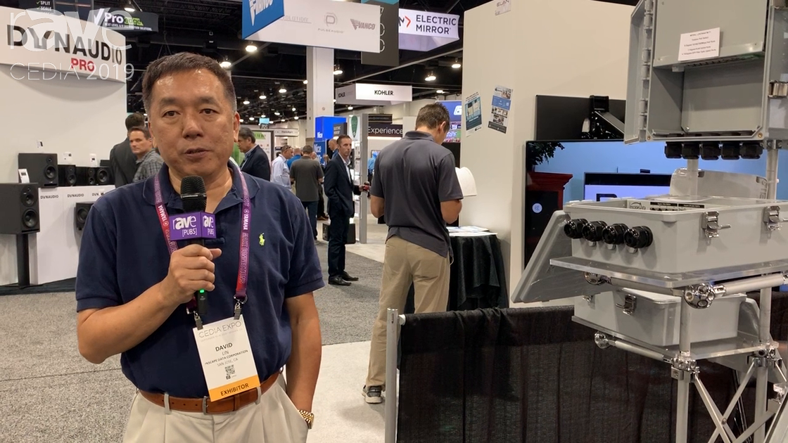 CEDIA 2019: Inscape Data Corp Talks About Its Outdoor PoE Switches