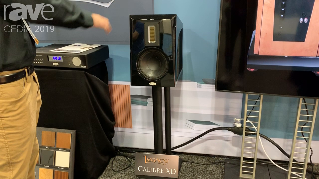 CEDIA 2019: Legacy Audio Features the Calibre XD Passive or Active Three-Way Speaker
