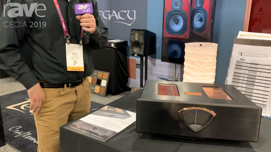 CEDIA 2019: Legacy Audio Shows the i·V7 Class D Home Theater Amplifier With ICEpower Power Modules