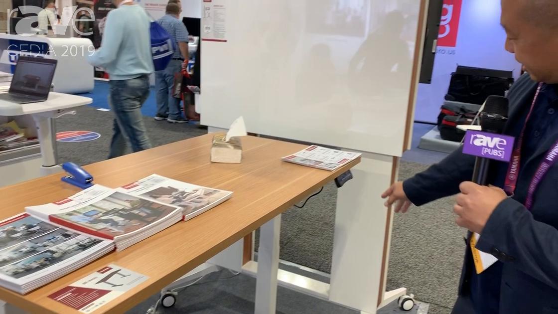 CEDIA 2019: Loctek Features ET224(IB)-P01 High-Speed, Adjustable Electric Sit-Stand Desk