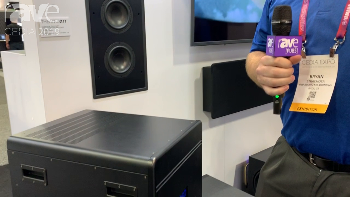 CEDIA 2019: OSD Black Features Theatro X11 Class-H Amplifier
