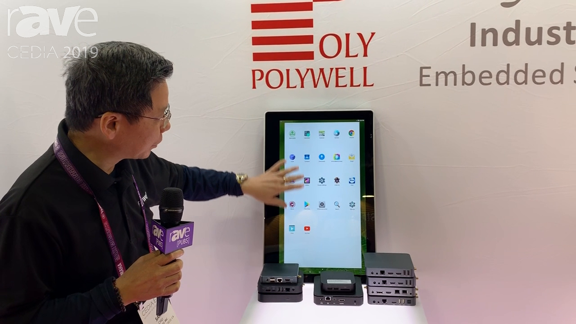 CEDIA 2019: Polywell Computers Features X9-21T Display With Embedded Android-Based PC