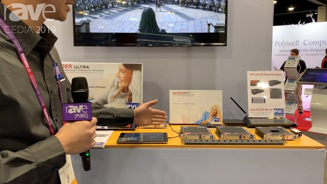 CEDIA 2019: ProVideoInstruments Features the VeCASTER Pro 4K HDMI to IPTV Streaming Encoder