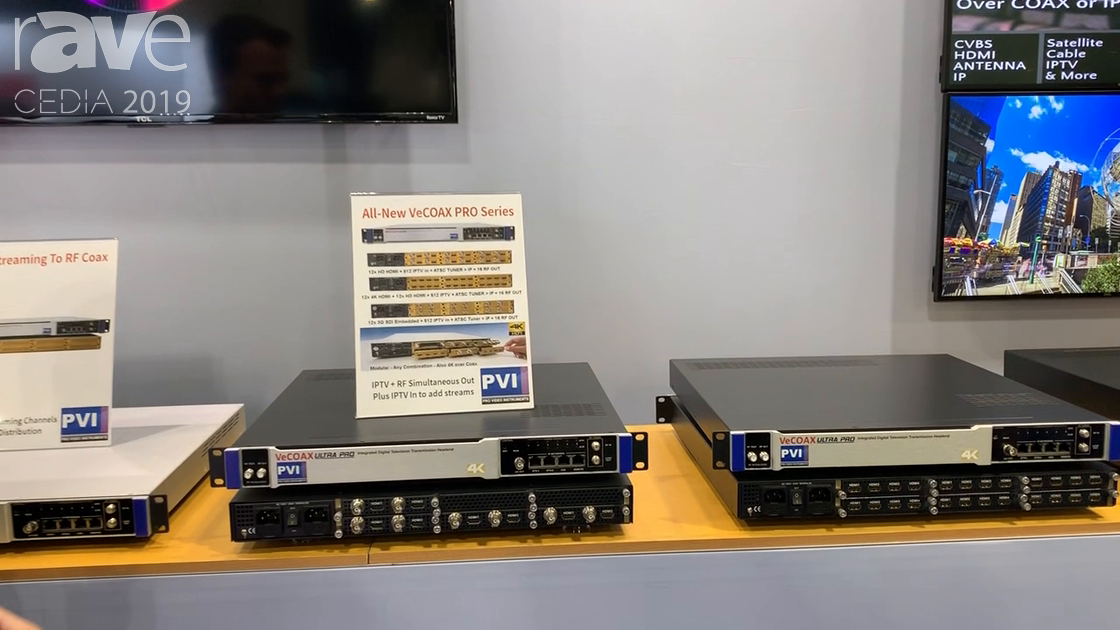 CEDIA 2019: ProVideoInstruments Intros VeCOAX PRO Series for Integrated Digital TV Transmission