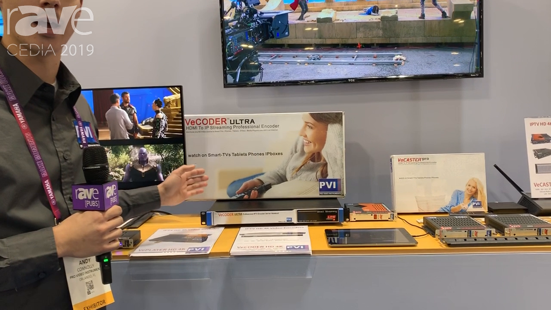 CEDIA 2019: ProVideoInstruments Showcases the VeCODER ULTRA Multi-Channel HDMI Encoder