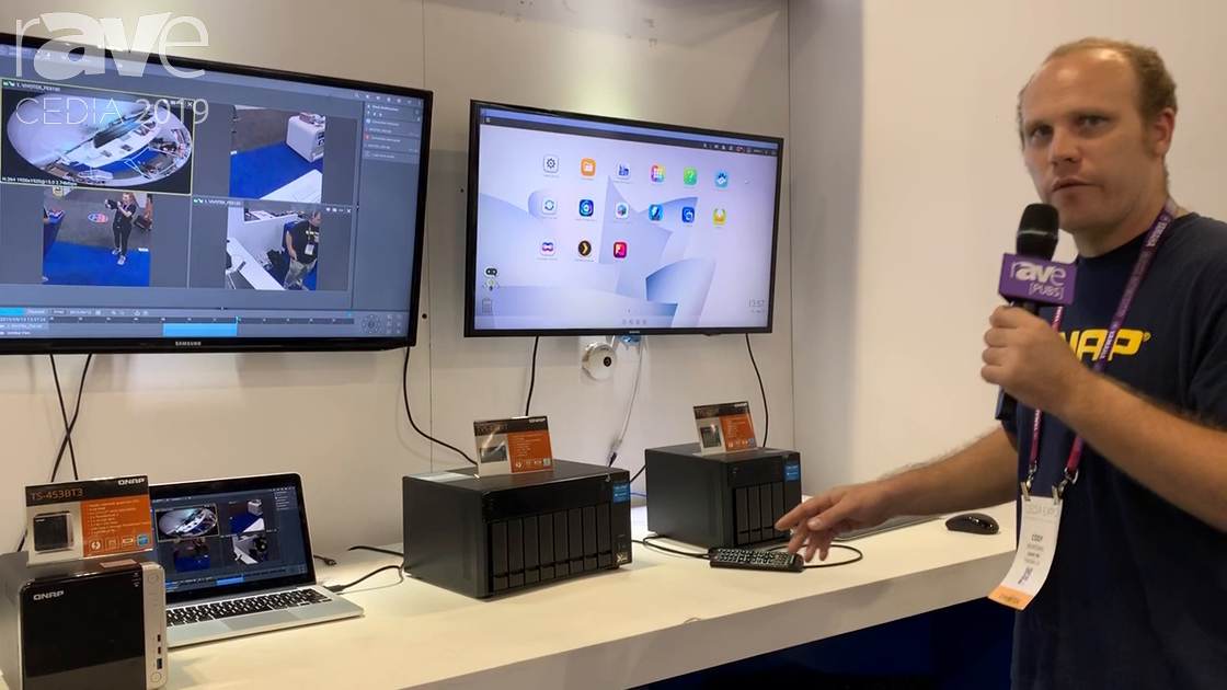 CEDIA 2019: QNAP Showcases the TVS-472XT NAS Media Processor