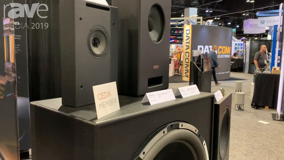 CEDIA 2019: Ascendo Immersive Audio Showcases SMSG 32 Infasonic Subwoofer