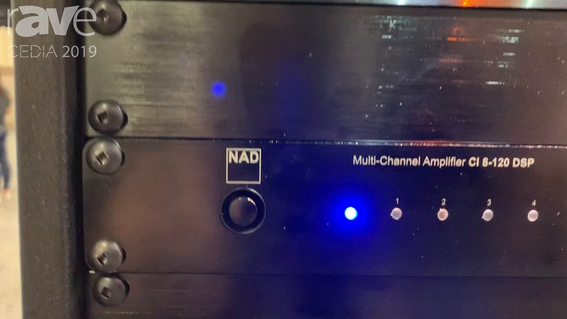 CEDIA 2019: NAD Features CI 8-120 Multi-Channel DSP Eight-Channel, Four-Zone Amplifier