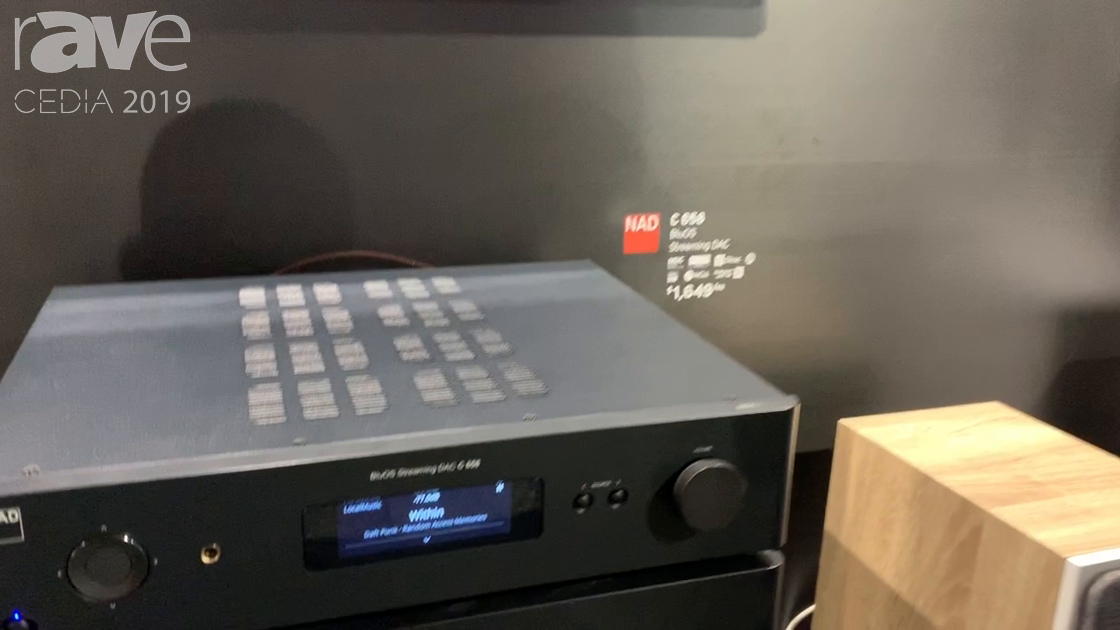 CEDIA 2019: NAD Showcases BluOS Streaming DAC C 658 and M10 Streaming Amplifier