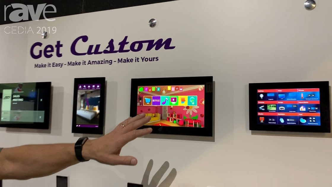 CEDIA 2019: RTI Shows Off Its KA8 and KA11 Customizable PoE Touch Panels