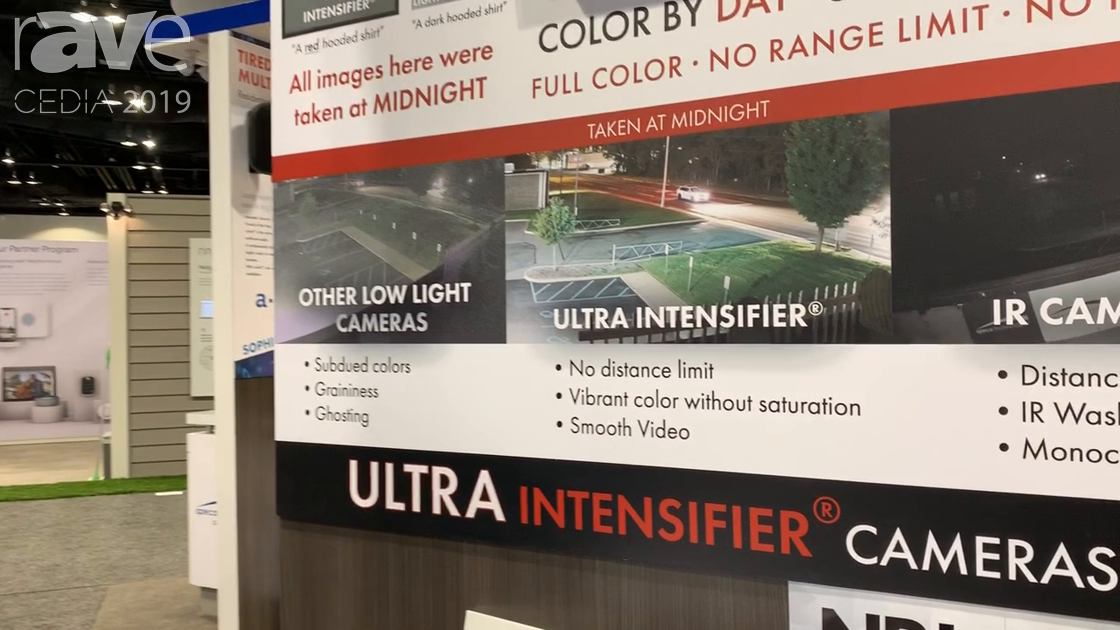 CEDIA 2019: Speco Technologies Presents Military-Grade, Low Light Ultra Intensifier Cameras