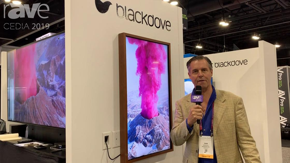 "CEDIA 2019: Blackdove Shows Off an ""Art-First"" TV, a Distribution Platform for Digital Art"
