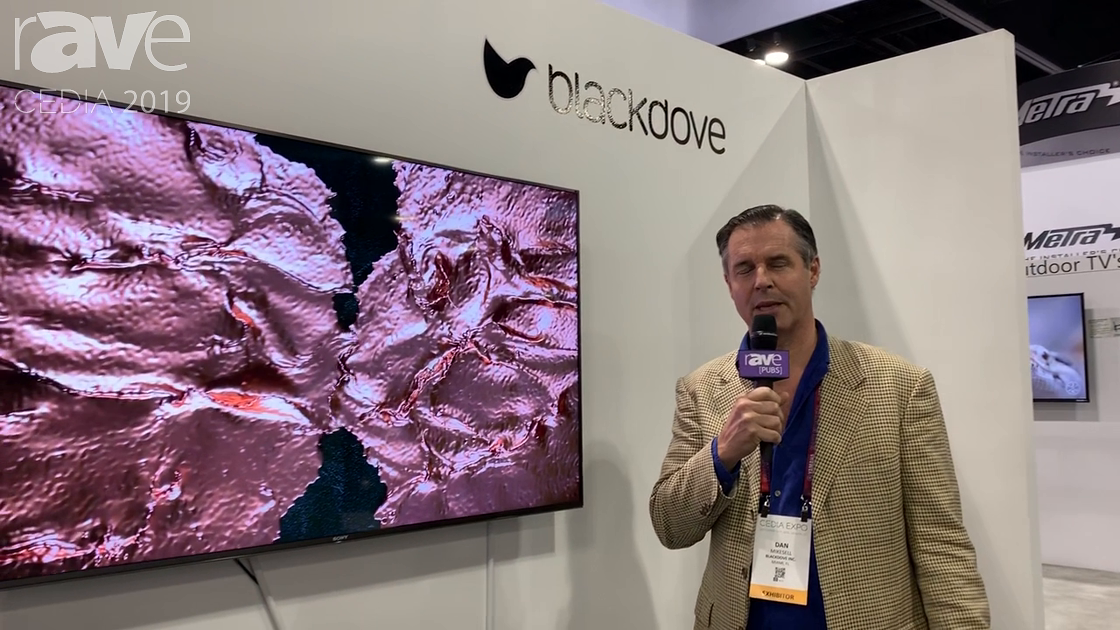 CEDIA 2019: Blackdove Offers a Subscription-Based Video Art Platform for Any TV/Display Type