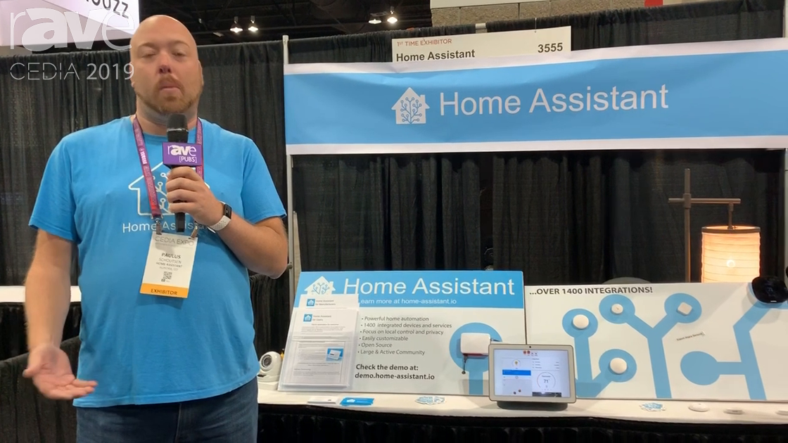 CEDIA 2019: Home Assistant Is an Open-Source Home Automation Platform, Uses Raspberry Pi