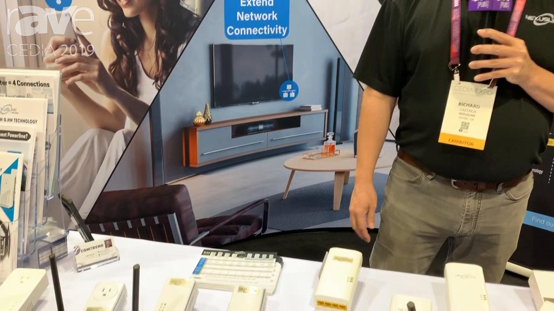 CEDIA 2019: NexusLink Features G.hn Powerline Coax Adapters, Offering Network Connectivity Over Coax