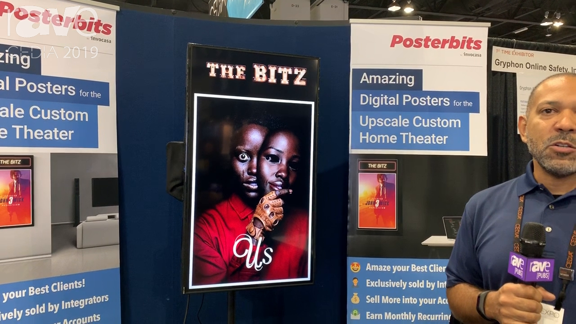 CEDIA 2019: Posterbits Is a Digital Movie Poster Service for Upscale Home Theaters