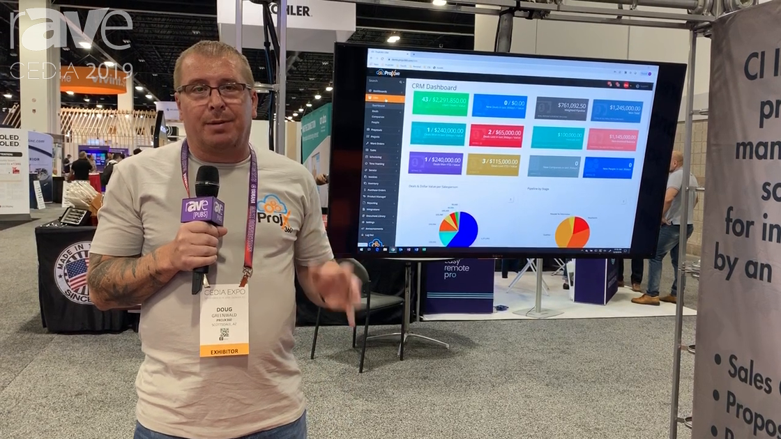 CEDIA 2019: ProjX360 Offers an End-to_end Inventory and Project Management Software System