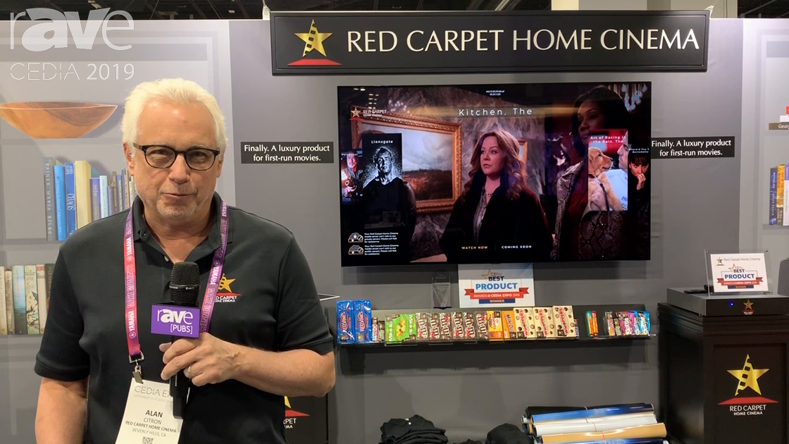 CEDIA 2019: Red Carpet Home Cinema Is a Luxury Service for In-Home First-Run Movies