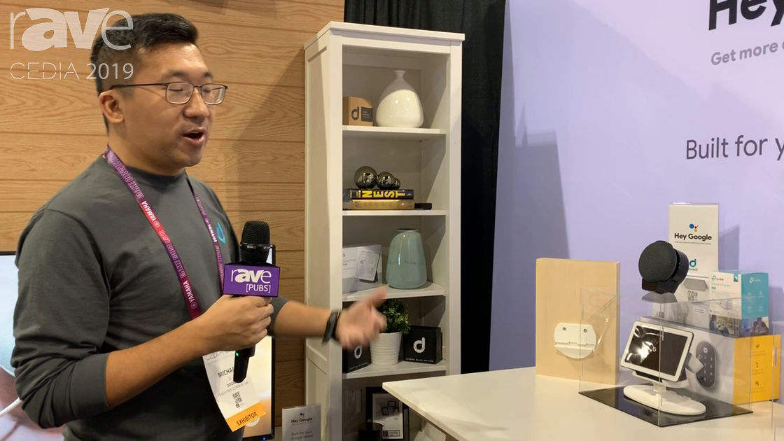 CEDIA 2019: doqxD Shows Off Accessories for Google Smart Home, Including doqxD for Google Nest Hub