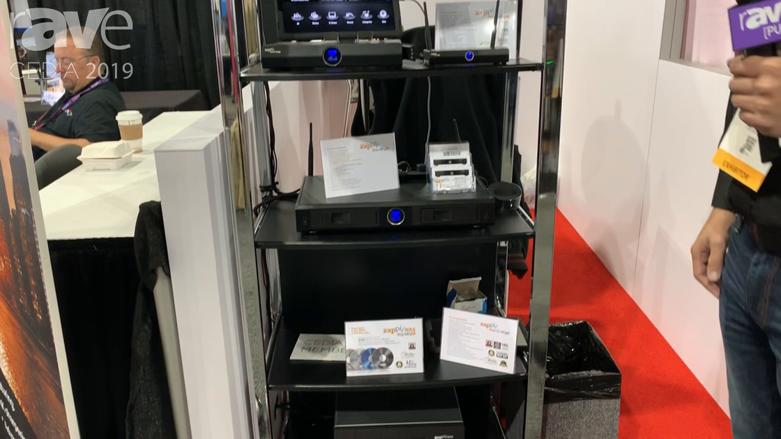 CEDIA 2019: Zappiti Features Its Home Media Server, Which Hosts Up to 8 Hard Drives