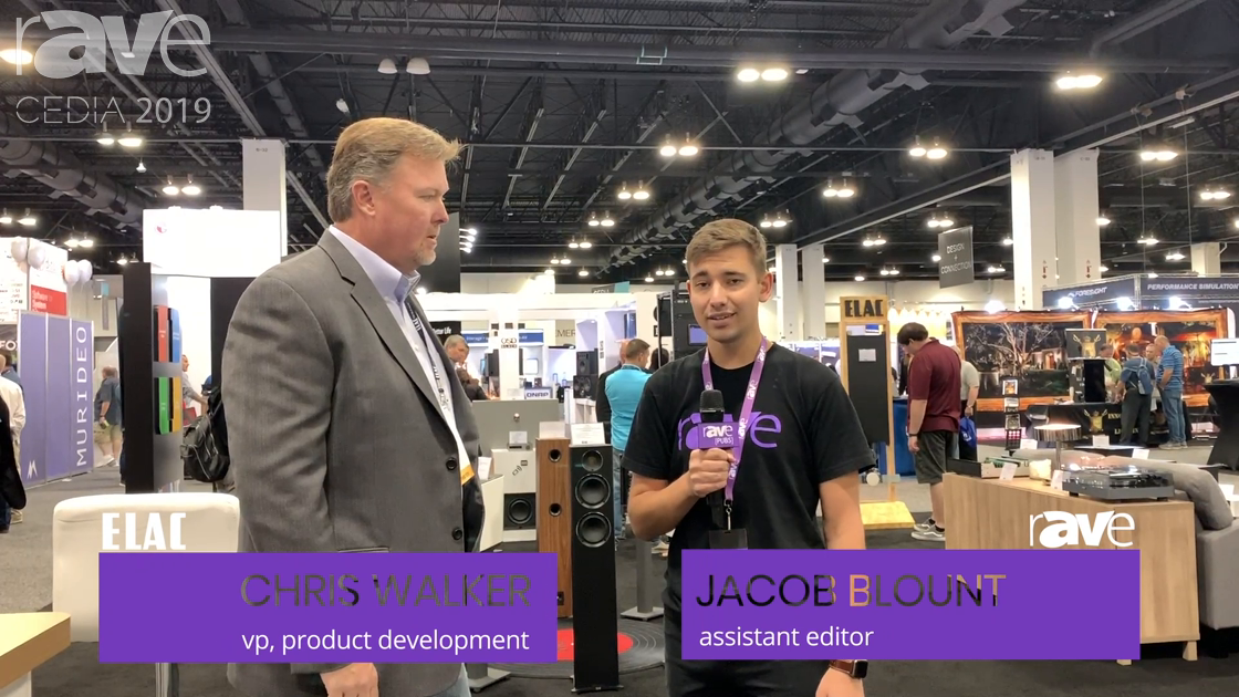 CEDIA 2019: Chris Walker of ELAC Talks to Jacob Blount About Solutions and the Customer Experience