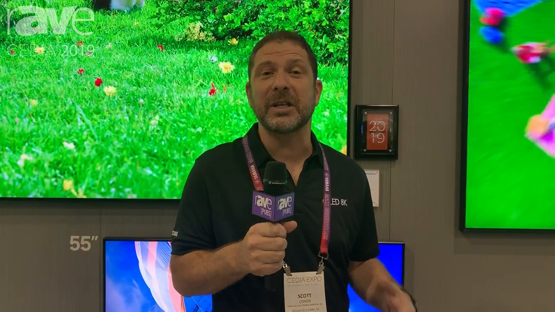 CEDIA 2019: Samsung Showcases QLED 8K TVs With AI-Upscaling