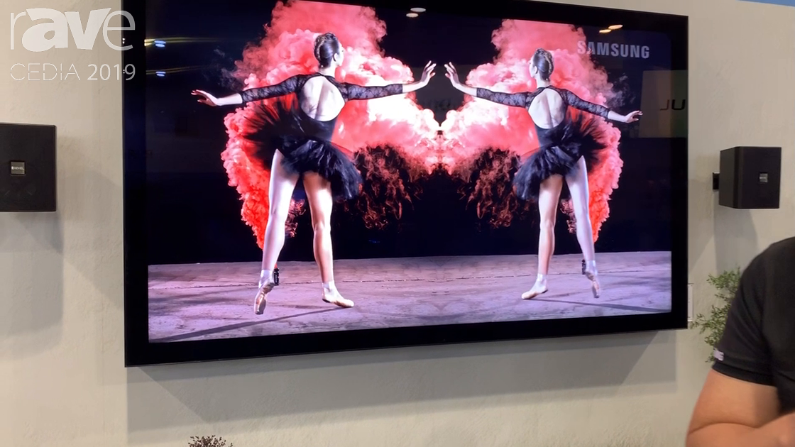 CEDIA 2019: Samsung Features OH85F Outdoor TV