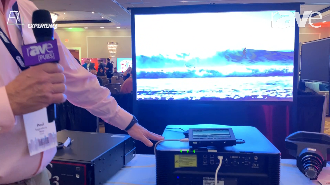 E4 Experience: Barco Showcases the G Series Projectors with 7000-, 8000- and 10,000-Lumen Options