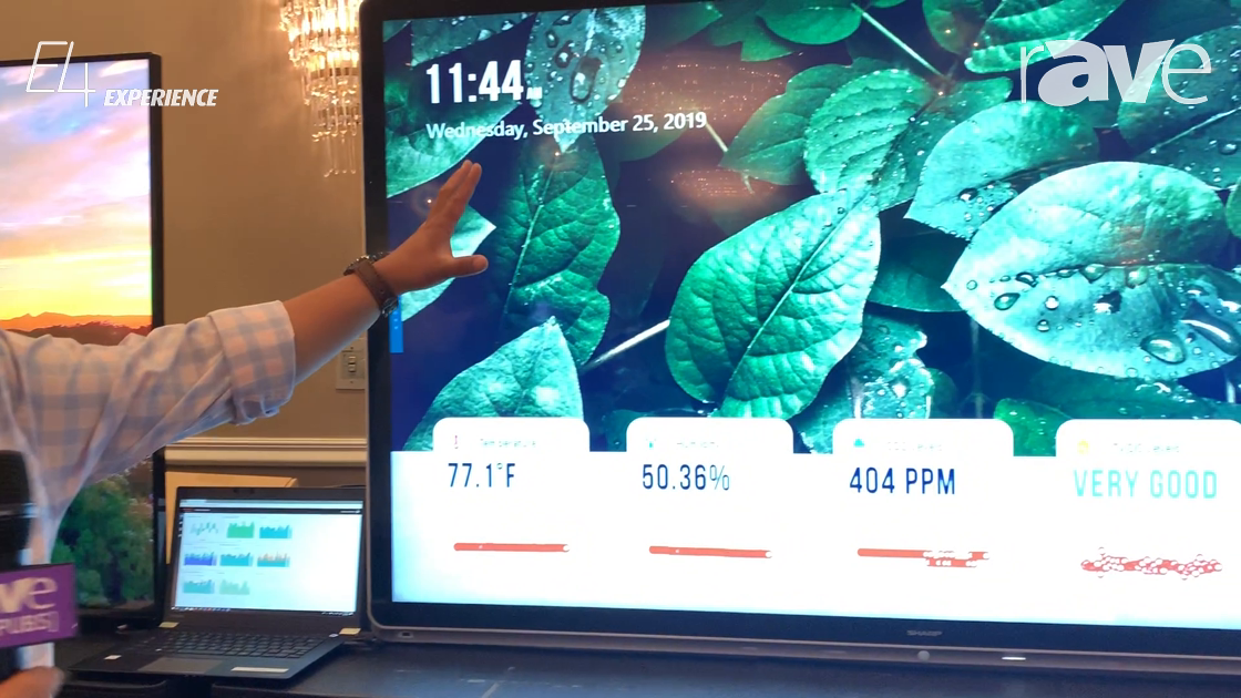 E4 Experience: Sharp Shows Off Its Windows Collaboration Display for Meeting Rooms