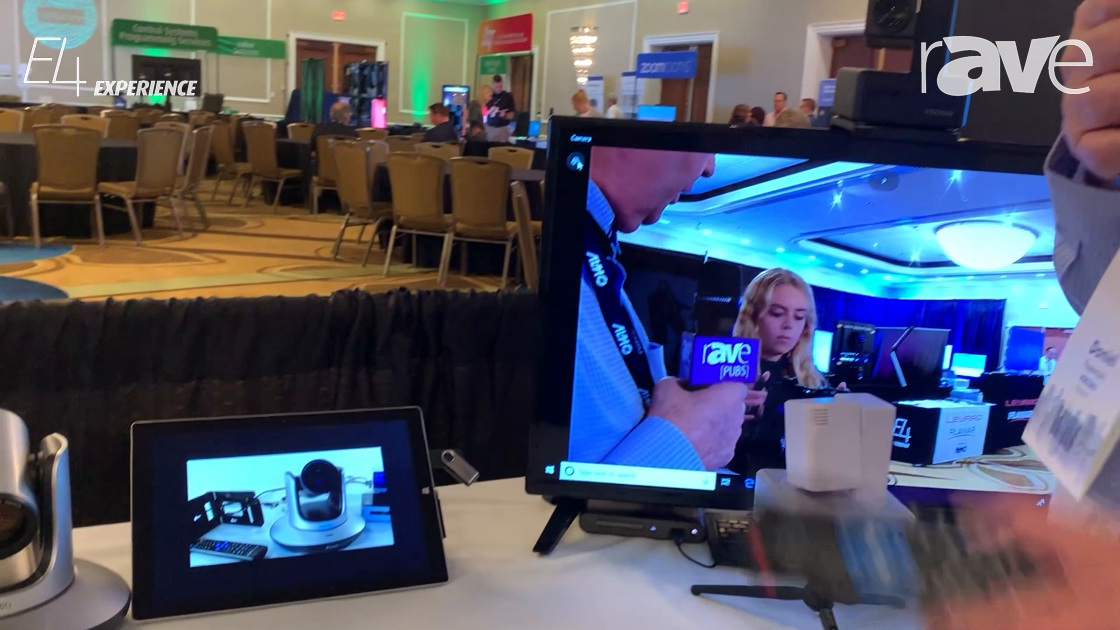 E4 Experience: VD0360 Showcases Autopilot Presenter Tracking System with Saber PTZ Camera