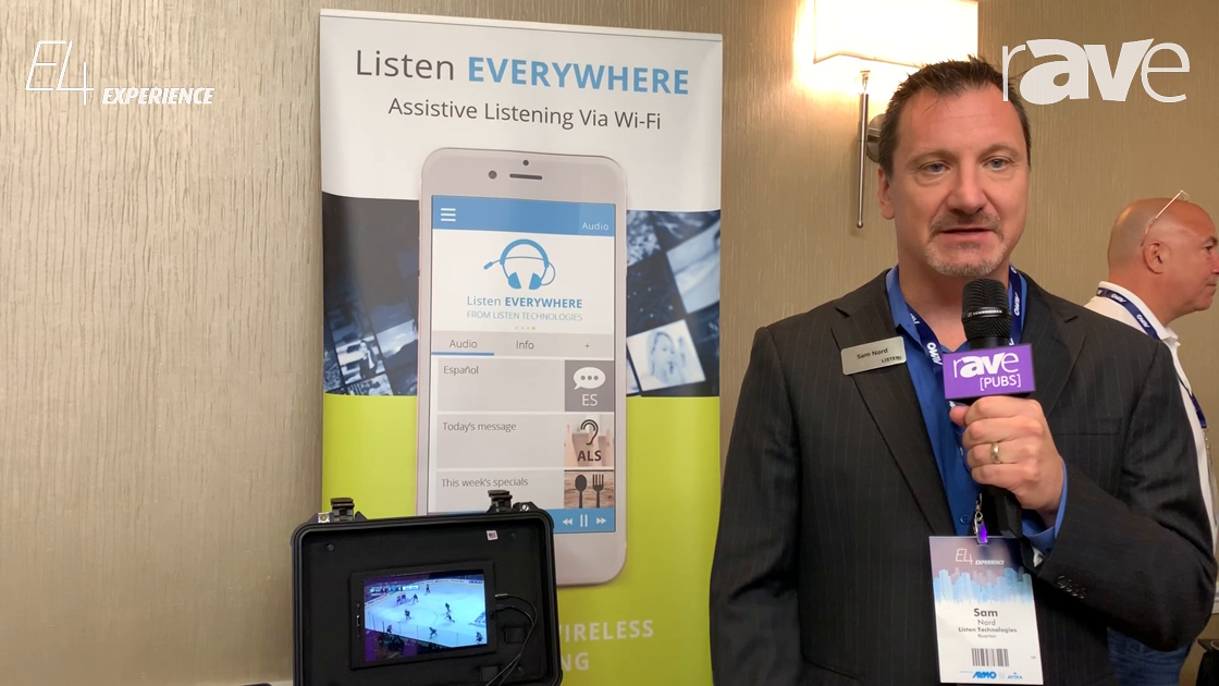 E4 Experience: Listen Technologies Presents Listen EVERYWHERE Assistive Listening Via Wi-Fi Solution
