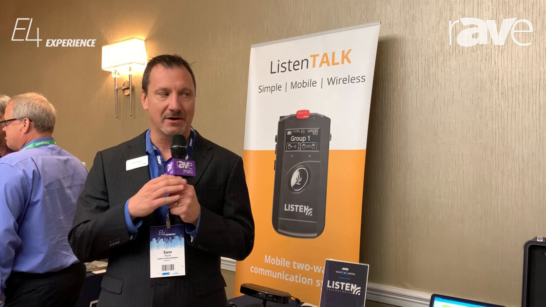 E4 Experience: Listen Technologies Shows Listen TALK Mobile Two-Way Wireless Communication System