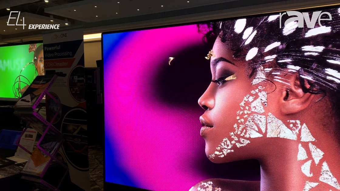E4 Experience: NEC Display Showcases FA Series Direct View LED Solution