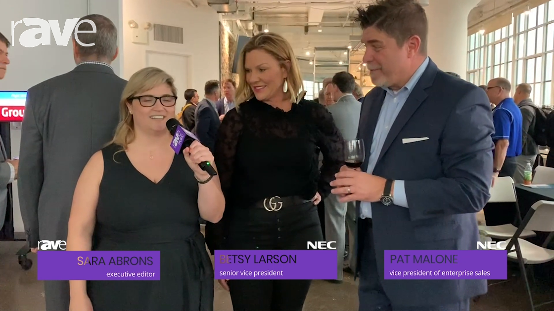 NYDSW: Sara Abrons Talks with NEC Display's Betsy Larson and Pat Malone About the New York Showcase