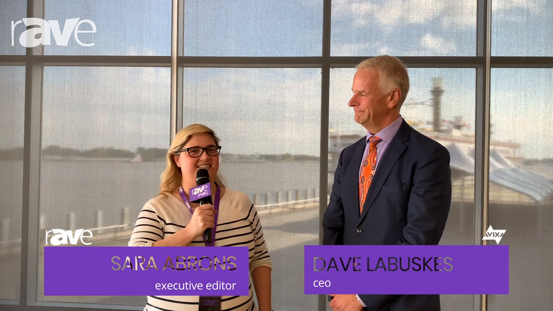 AVEC 2019: Sara Abrons Interviews AVIXA CEO Dave Labuskes About the Conference