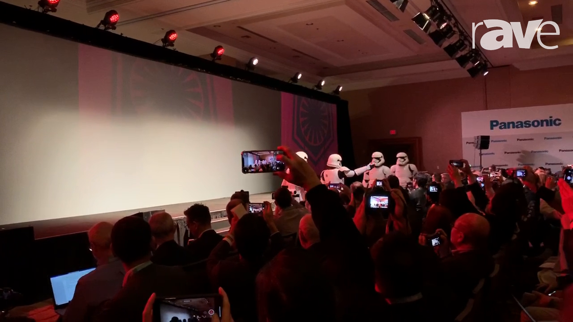 CES 2020: Storm Troopers Invade Panasonic's Stage at CES
